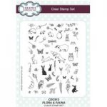 Creative Expressions A5 Stamp Set Flora & Fauna | Willowby Woods Collection
