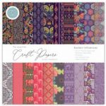 Craft Consortium The Essential Craft Papers 12in x 12in Eastern Influences | 30 Sheets