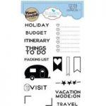 Elizabeth Craft Designs Stamp Set Planner Essentials Bullet Journaling #1 | Set of 15