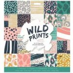 Papermania 12in x 12in Paper Pad 50 Sheets | Wild Prints