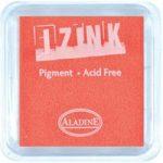 Aladine Izink Pigment Inkpad Fluorescent Orange