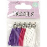 Dovecraft Planner Accessory Travel Tassels | Pack of 5