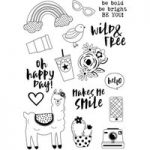 Simple Stories Clear Stamp Set Be You! Set of 16 | Oh Happy Day!